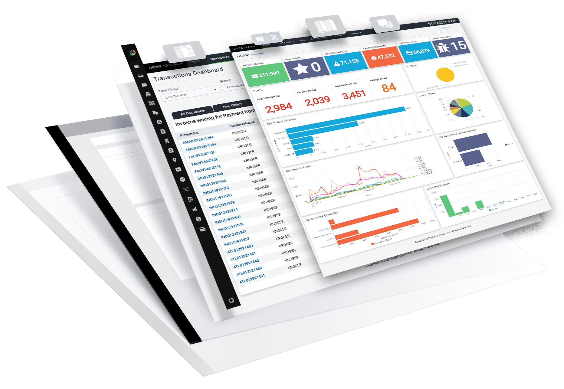 Analytics in supply chain, supply chain analytics, business data analytics, data analytics solutions or business intelligence and analytics, call it what you want - Monitor Pro does it all.